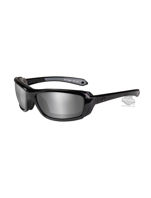 a5dc5d118c25 Harley-Davidson® Rage Silver Flash Smoke Grey Lens Sunglasses or Goggle by Wiley  X
