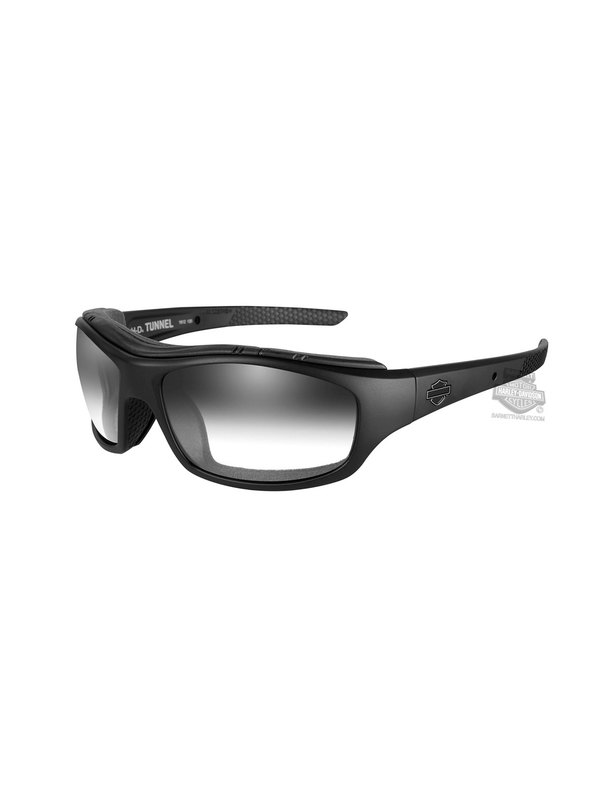 66eab1e8ea8a Harley-Davidson® HD Tunnel LA Smoke Grey Lens in a Matte Black Frame by