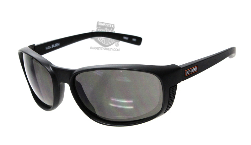 Harley-Davidson® HD Burn Smoke Grey Lens in a Matte Black Frame Sunglasses by Wiley X®