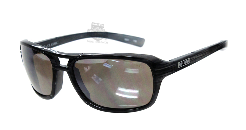 Harley-Davidson® HD Classic Silver Flash Copper Lens in a Black-Grey Tortoise Frame Sunglasses by Wiley X®