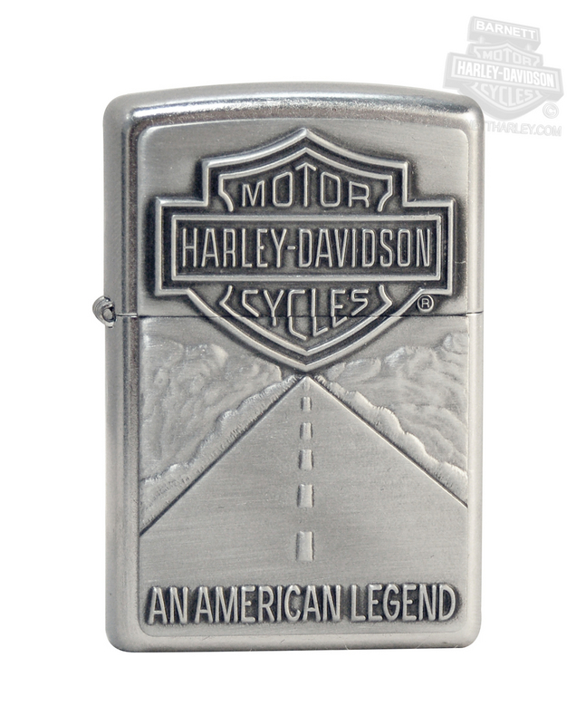 Harley-Davidson® American Legend Street Chrome™ Zippo Lighter