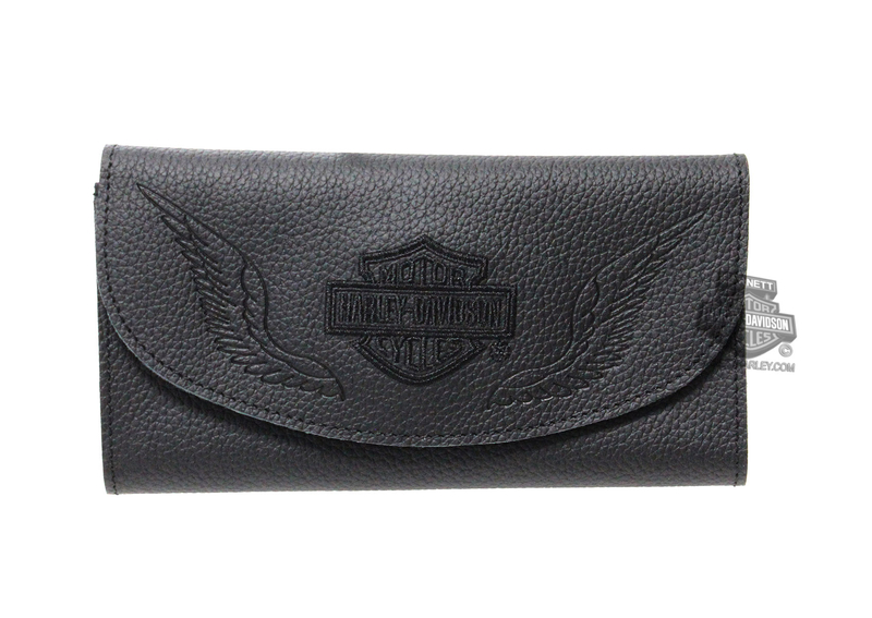 Harley-Davidson® Womens B&S with Wings Embroidered 7