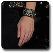 Womens Wrist Cuffs by LODIS